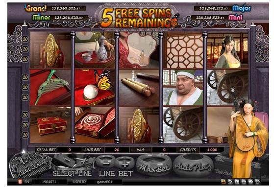 Hình ảnh game miễn phí(Free Spins)